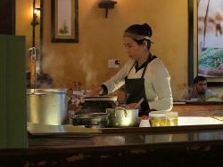 Steaming kitchen
