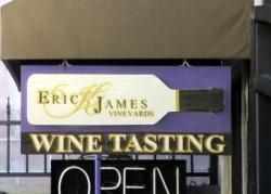 Eric K. James Tasting Room