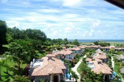 View of private villas