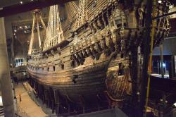La Nave da Guerra VASA nel Museo Vasa  a Djurgarden