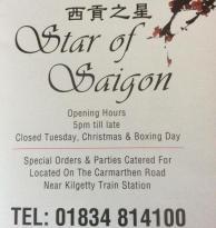 Star of Saigon LTD