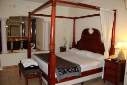 King Bed - in our suite