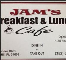 Jam's Breakfast & Lunch Cafe