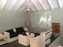 Our big screen upstairs lounge