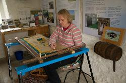 Rural crafts demonstration