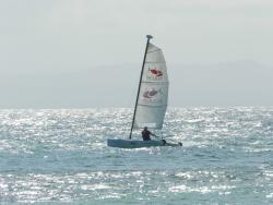 Sailing at the Bahia Principe
