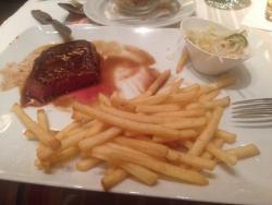 Una gustosa bistecca