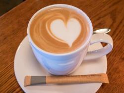 Latte at The Kitchen Del Vino