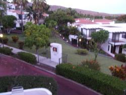 view to left of balcony room 83