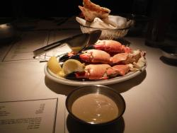 Stone crabs with that yummy sauce!!!