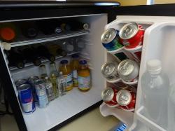 well stocked mini bar - drinks