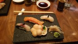 The sushi course.