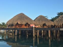 Over-the-sea cabana