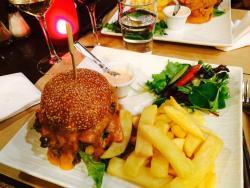 Le burger du vigouroux
