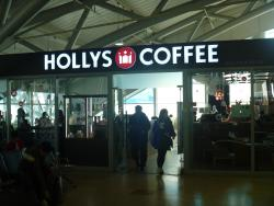 Hollys Coffee Gimhae Intenational Airport