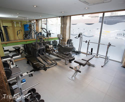 Fitness Center at the Hotel Jacques de Molay