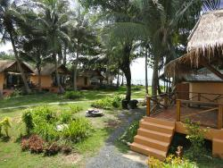 View from bungalow