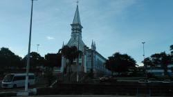 Vista da Igreja.