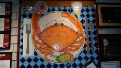 Crab Tile Work
