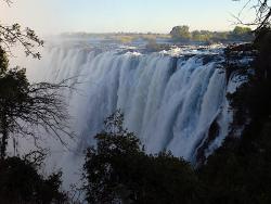 The African icon – Victoria Falls on the Zambezi River.