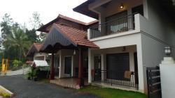 Reception area at Hill Tree Inn Luxury Resort, Wayanad