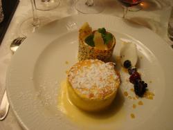 Passionsfrucht - Dessert