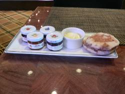 English Muffin and Jams