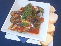 Chilli Tomato Green Lip Mussels