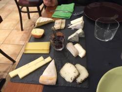 Piatto da 10 formaggi per due