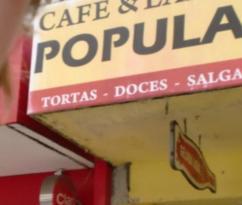 Cafe e Lanche Popular