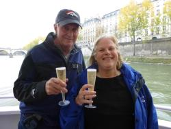 Champagne Tasting on a Seine River Cruise