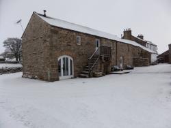 Snowy Angel Barn