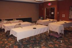 The room where I held my RCRA Personnel & HazMat Employee seminar was well-prepared by the staff