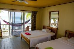 Inside Beach Cabana