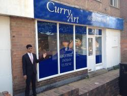 Curry art restaurant