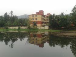Lake at verna goa