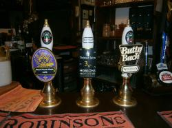 Wye Valley beers on tap