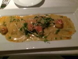 Lobster raviolo