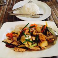 Blue Rice Restaurant Kanchanaburi