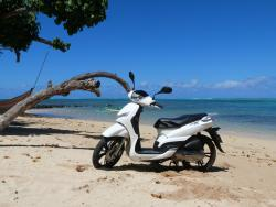 Rent a Scooter Center Moorea