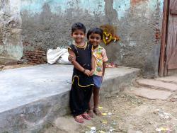 Mughal Heritage Walk:  Village Children