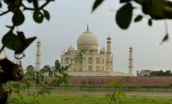 Mughal Heritage Walk:  View from Village