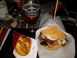 Impresionante hamburguesa!!