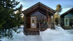 Front of our cabin