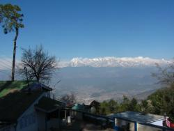 himalaya from our room