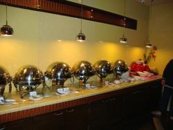 Ginger Mumbai (Andheri), buffet spread in the restaurant