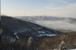Téli Dunakanyar - a felhők fölött mindig kék az ég