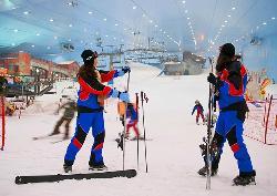 迪拜滑雪场