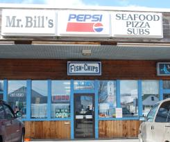 Mr Bill's Seafood & Pizza