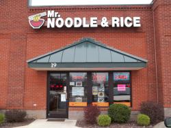Mr Noodle and Rice